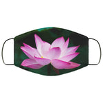 Floral Lotus Flower Face Mask
