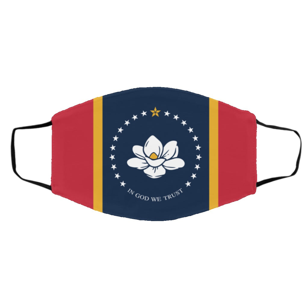 Mississippi State Flag USA Face Mask
