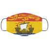 New Brunswick Flag Canada Face Mask
