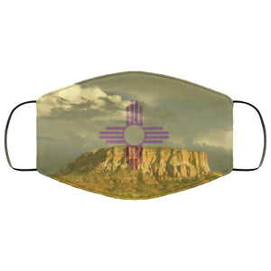 New Mexico Flag Desert Face Mask