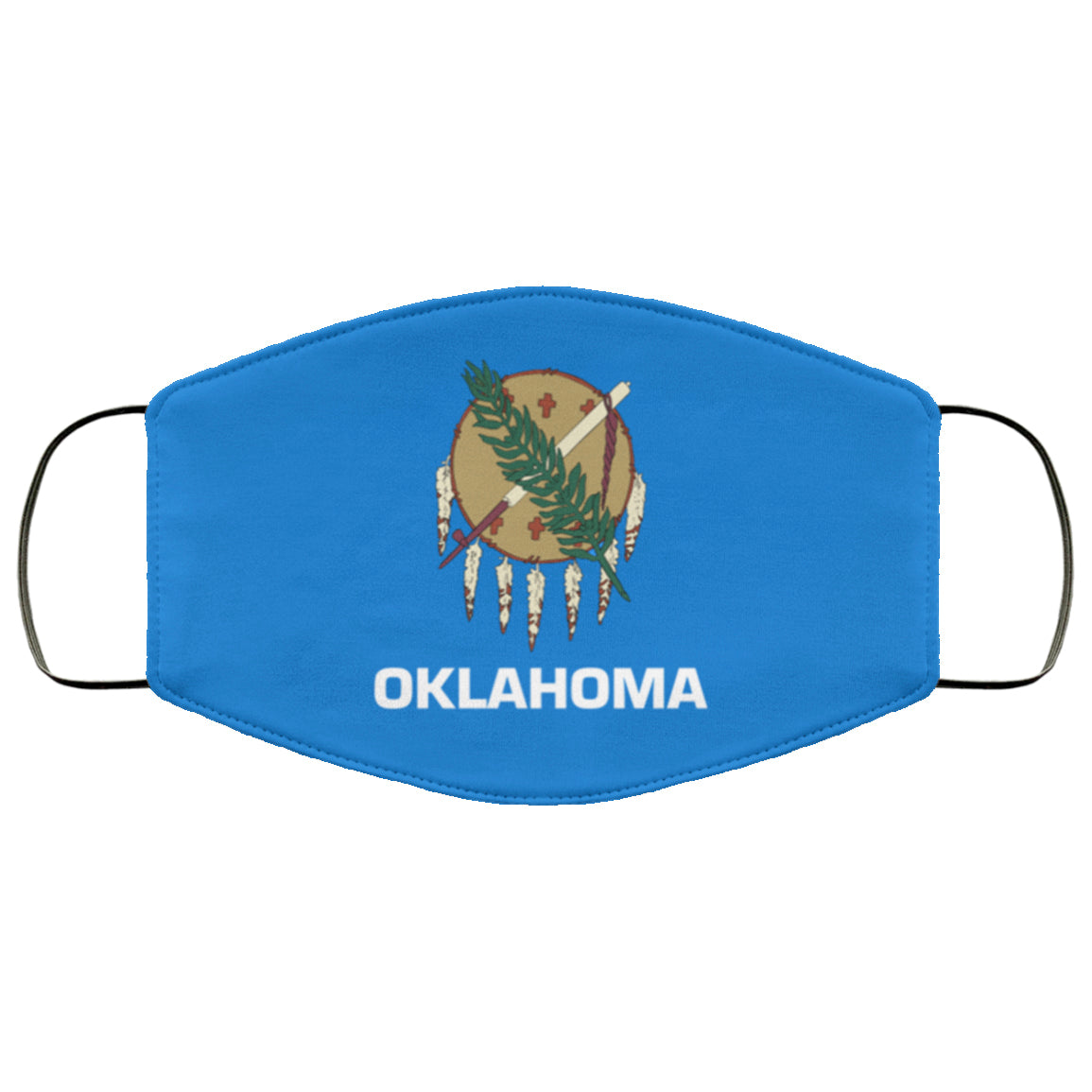 Oklahoma State Flag USA Face Mask