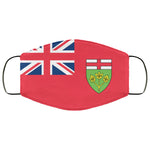 Ontario Canada Flag Face Mask
