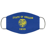 Oregon State Flag USA Face Mask
