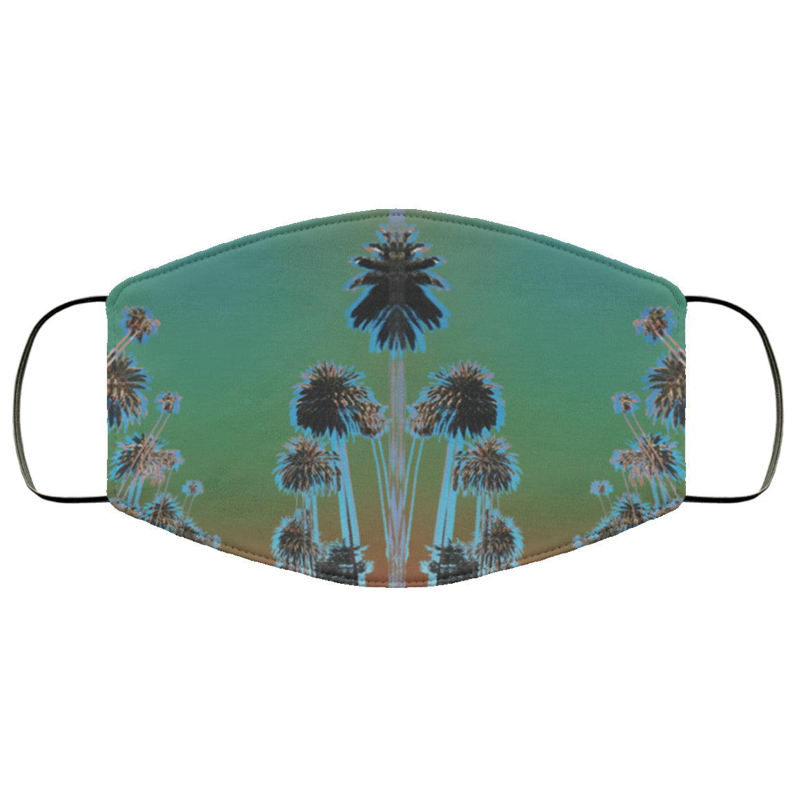 Psychedelic Palms Face Mask