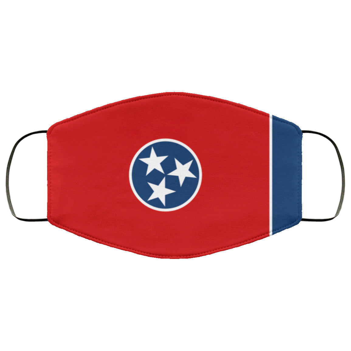 Tennessee State Flag USA Face Mask
