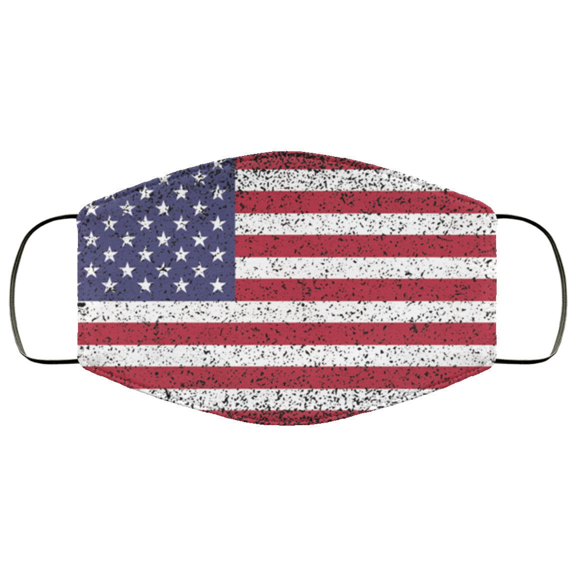 USA Flag Distressed Effect Face Mask