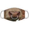 Bull Cow Nose Cute Funny Face Mask