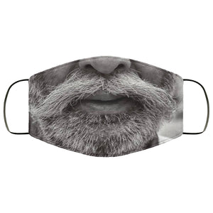 Moustache Beard Face Mask