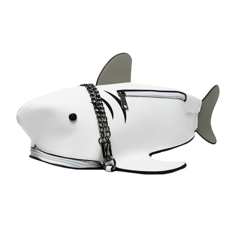 Daddy Shark Shoulder Bag-Pordein