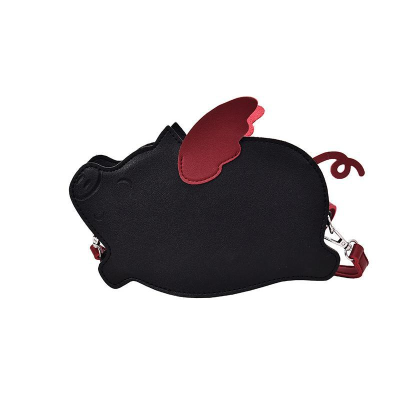 Flying Pig Mini Bag-Pordein