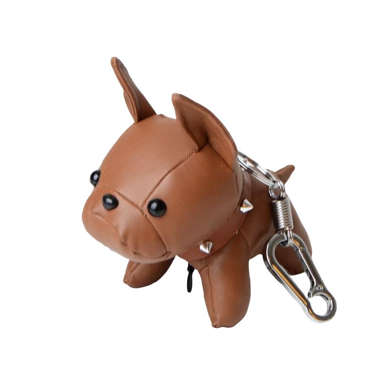 Frenchie the Bulldog Keychain-Pordein