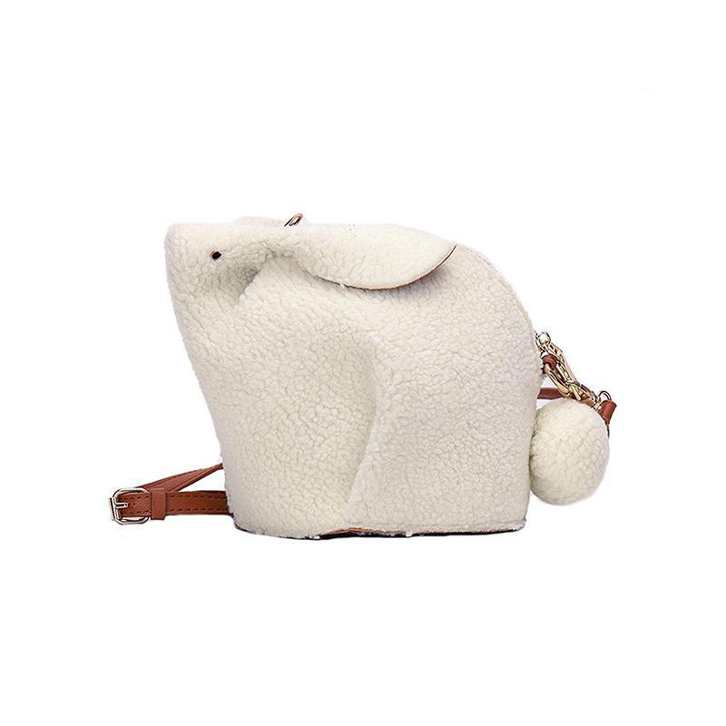 Snow Bunny Mini Bag-Pordein