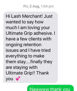 Eyelash Adhesive - 'Ultimate Grip'