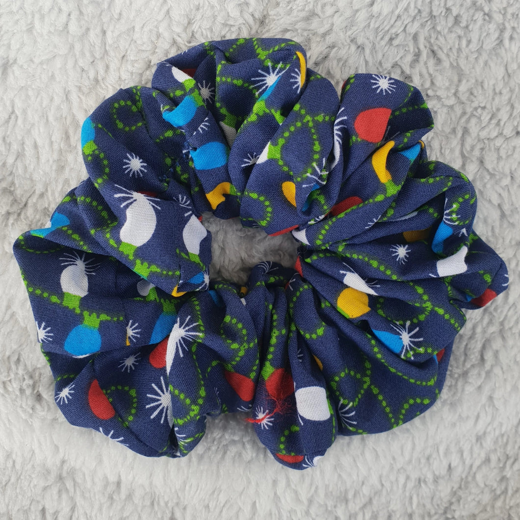 Christmas Fabric Hair Scrunchie - WaggyBumPetBoutique