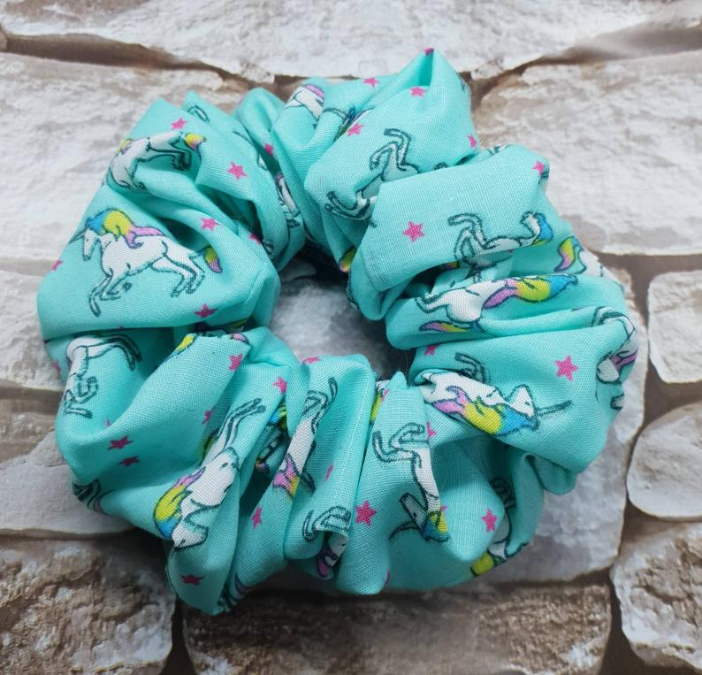 Unicorn Hair Scrunchie - WaggyBumPetBoutique