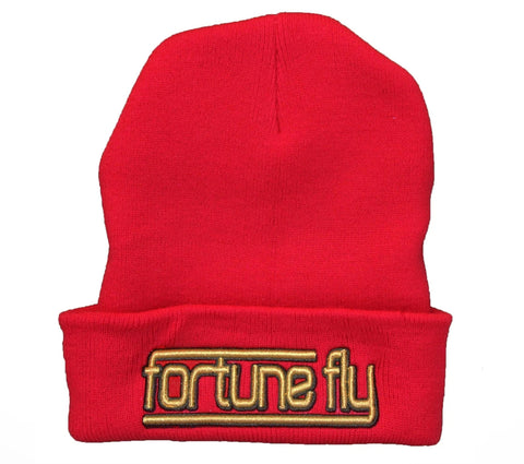 Red Lines Beanie