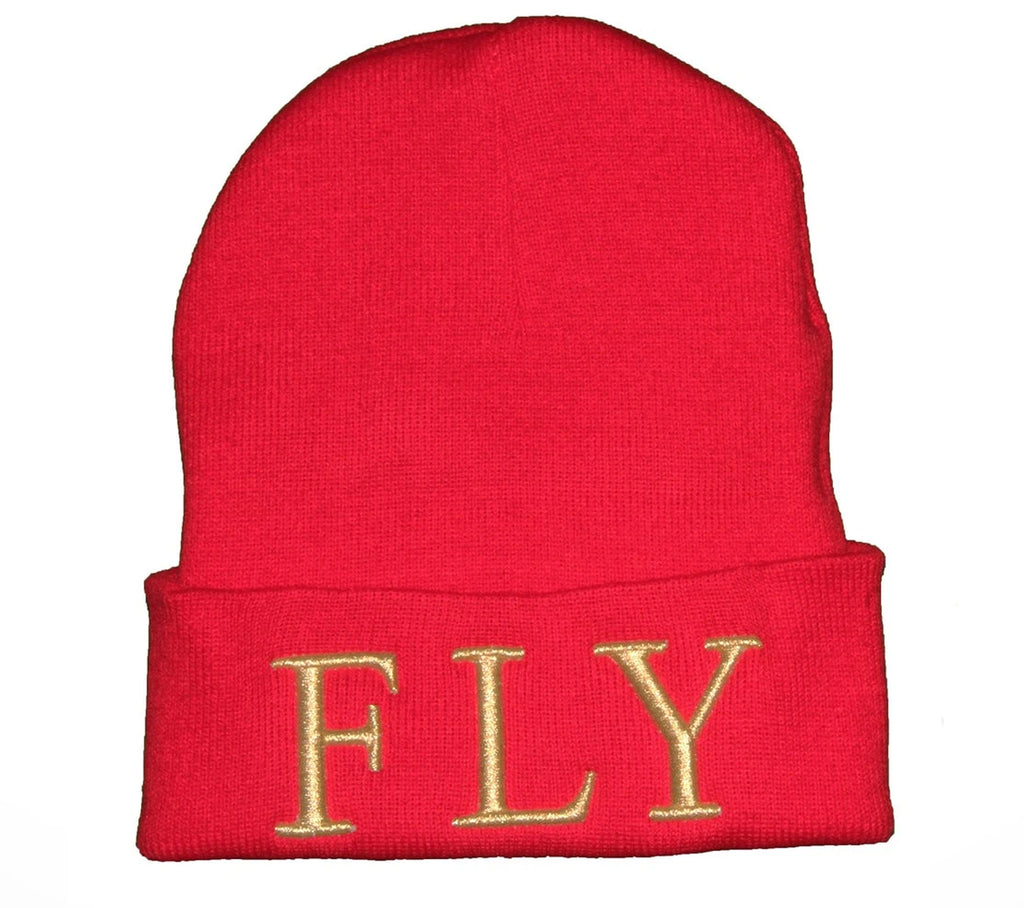 Red FLY Beanie