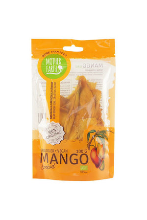 Organic Dried Mango 100g - Mother Earth
