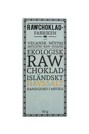 Raw Chocolate Sea Salt