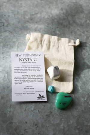 Gift Bag - New Beginnings - Chrysophras, Turquoise, Howlite