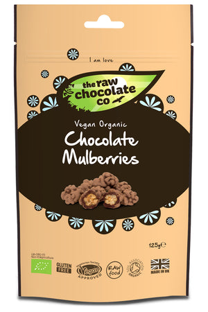 Raw Chocolate Mullberries