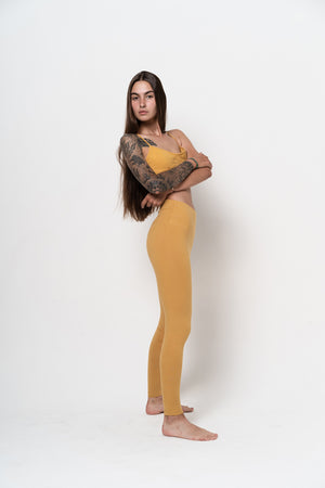 Lydia Leggings Mustard - Studio K