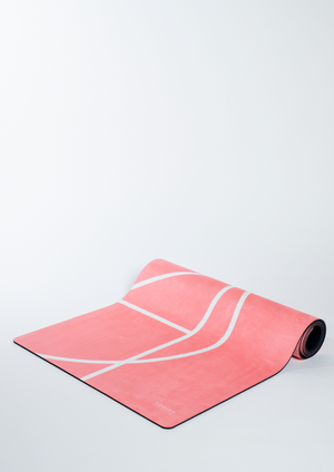 Luxe Yoga Mat - Coral