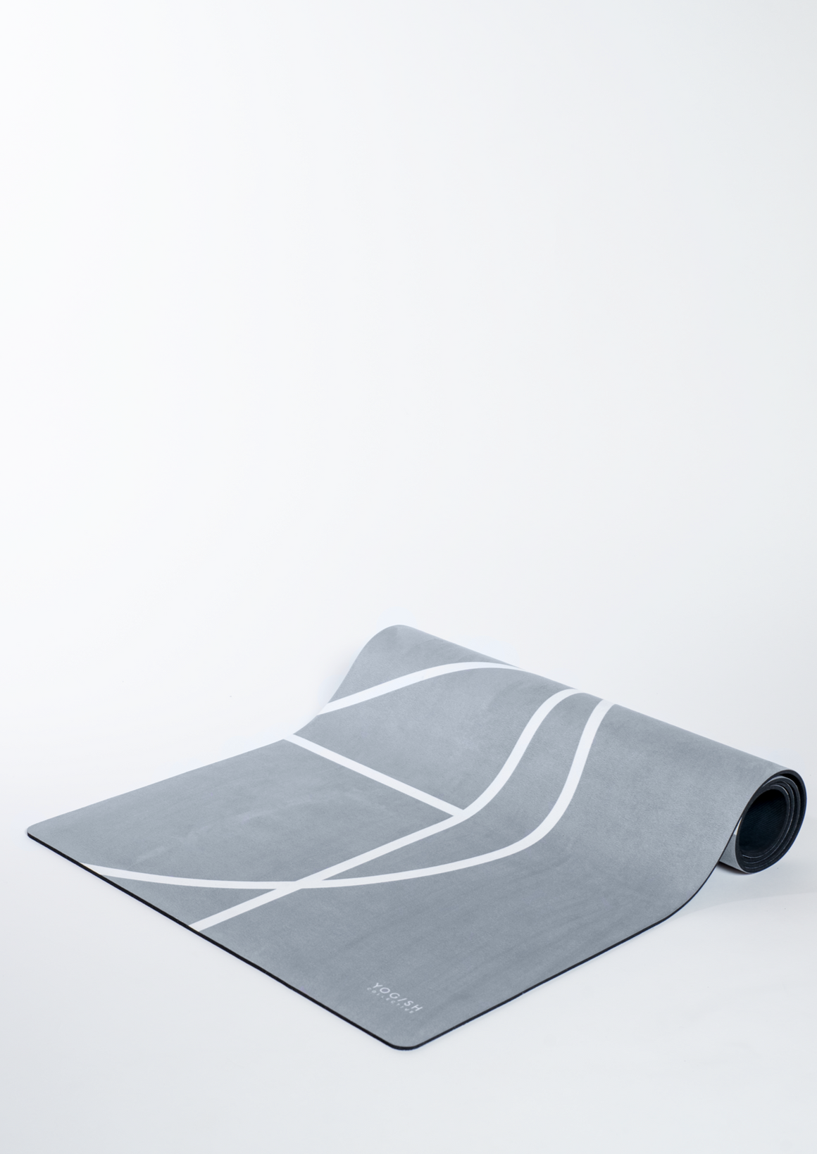 Luxe Yoga Mat Ash Grey - Yogish Collective