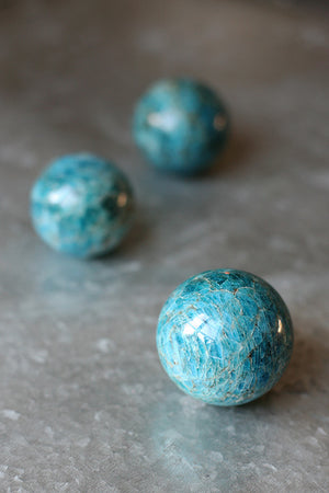 Apatite Crystal Ball