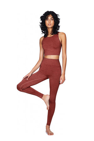 Seamless Leggings Marsala - Moonchild