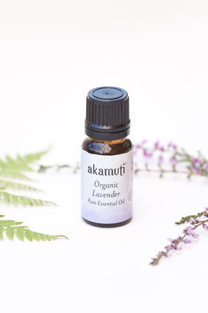 Organic Lavender Essential Oil 10 ml - Akamuti