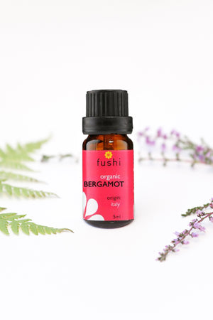 Organic Bergamot Essential Oil 5 ml - Fushi