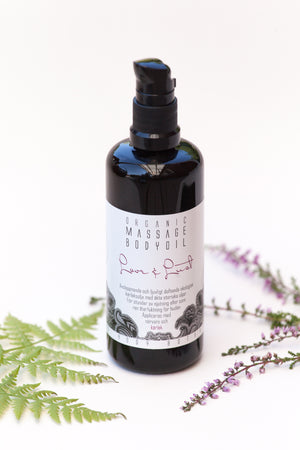 Love and Lust - Sensuous Massage Oil - KaliFlower Organics