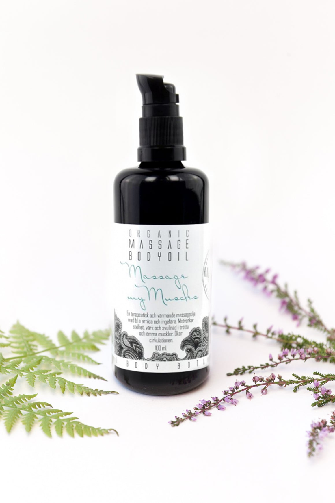 Massage My Muscles - Warming Massage Oil - KaliFlower Organics