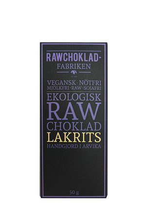Raw Chocolate Licorice
