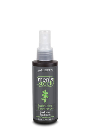 Men's Stock Herbal Pine Deo Spray - Aubrey Organics