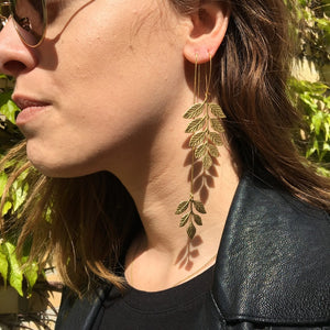 Fern Earring - Bohemia Collection