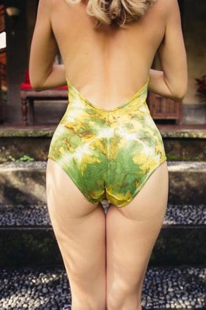 Starburst Leotard - Green - Moondance Society