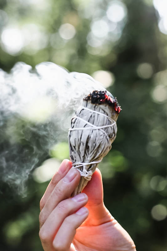 White Sage for smudging - small
