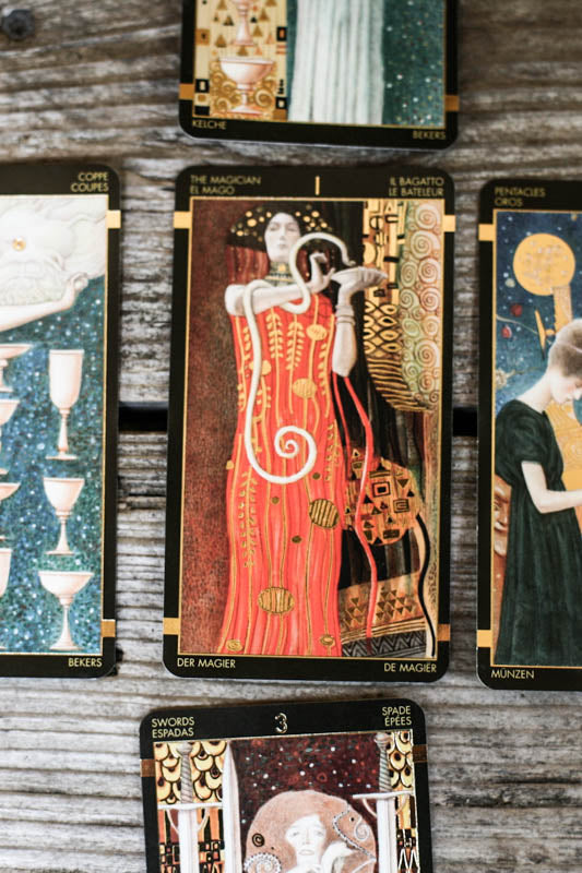 The Golden Tarot of Klimt