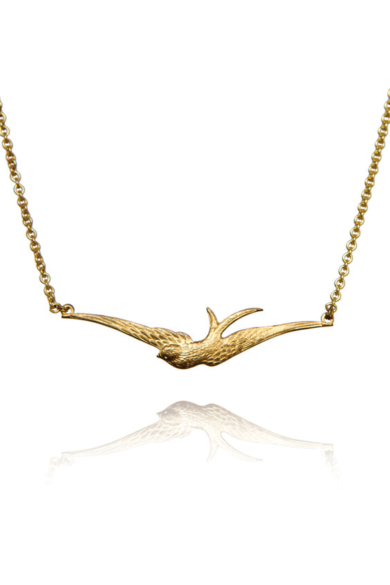 20 % OFF Swallow Necklace - Bohemia Collection