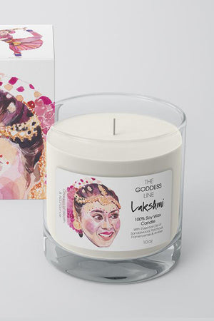 Lakshmi Candle - The Godess Line