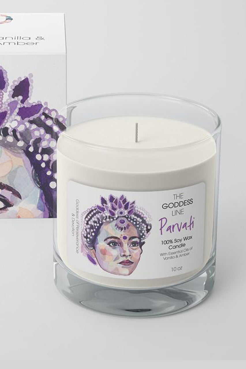 Parvati Candle - The Godess Line