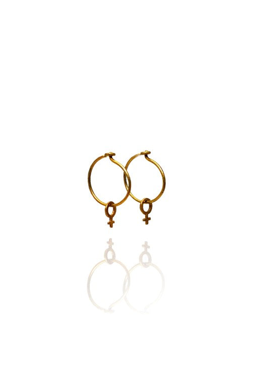 Urkraft Earring Brass - Bohemia Collection