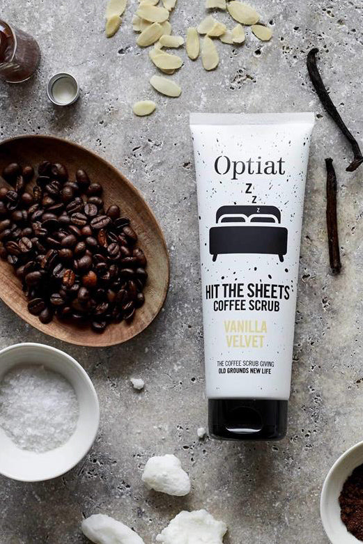 Hit The Sheets Exfoliating Coffee Scrub 90g - Optiat