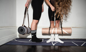 Luxe Yoga Mat Sand - Yogish Collective