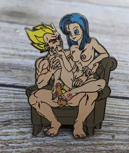Vegeta x Bulma Royal Fetish