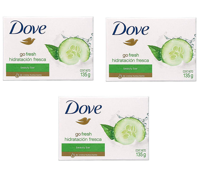 pack Of 3 Dove Shea Butter Bar 135g Imported
