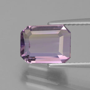 3.25 ct  Octagon Facet Bi-Color Ametrine 9.9 x 7.6 mm