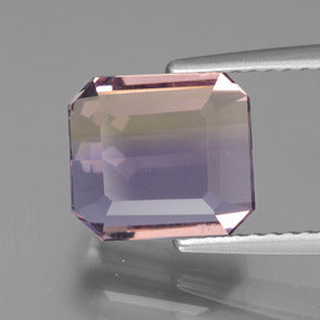 3.25 ct  Octagon Facet Bi-Color Ametrine 9.1 x 8.1 mm